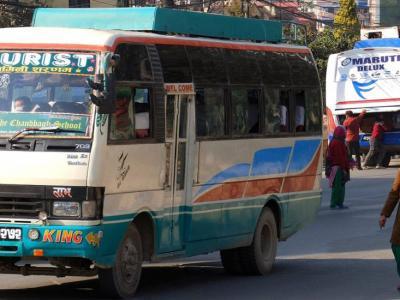 Nepal local bus tour