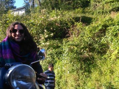 Motorbike day tour in Nepal